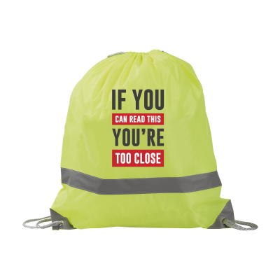 Picture of SAFEBAG BACKPACK RUCKSACK in Fluorescent Yellow
