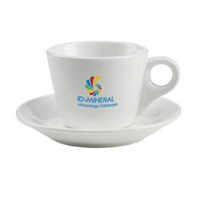 Picture of DA VINCI CUP & SAUCER in White