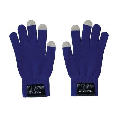 Picture of TOUCH SCREEN GLOVES in Blue