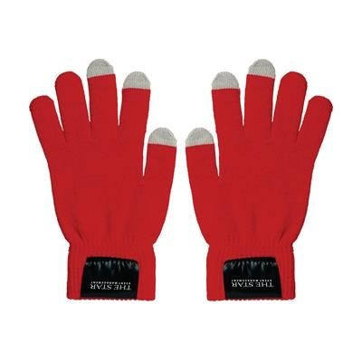 Picture of TOUCH SCREEN GLOVES in Red