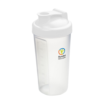 Picture of SHAKER PROTEIN DRINK CUP in White