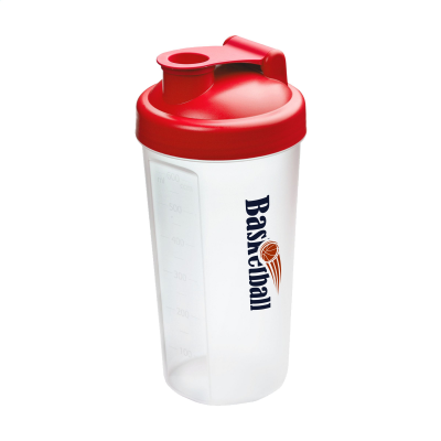 Picture of SHAKER PROTEIN DRINK CUP in Red