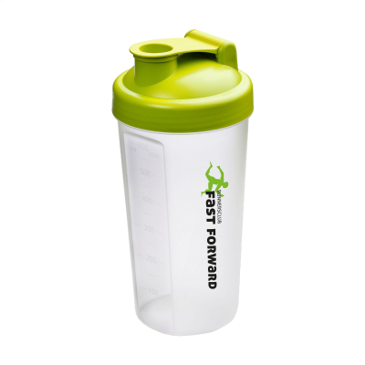 Picture of SHAKER PROTEIN DRINK CUP in Lime