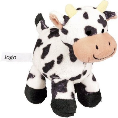 Picture of JOLLY COW SOFT TOY in Black & White