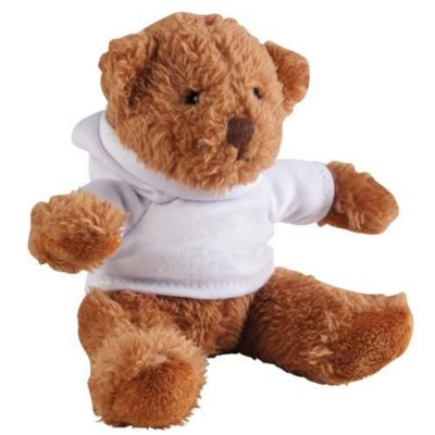 Picture of HOODED HOODY BEAR SOFT TOY