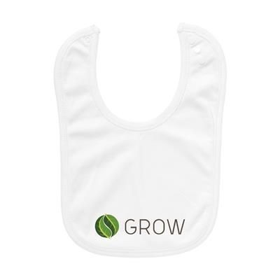 Picture of ROBIN BABY BIB in White