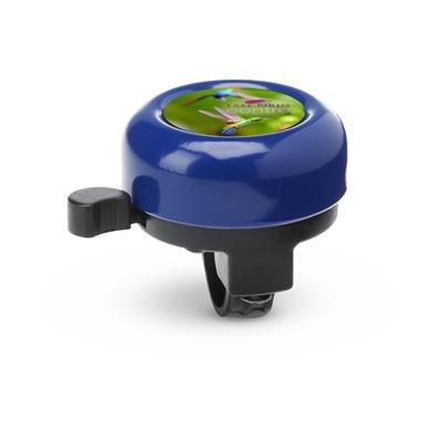 Picture of METAL BICYCLE BELL with Plastic Holder in Blue