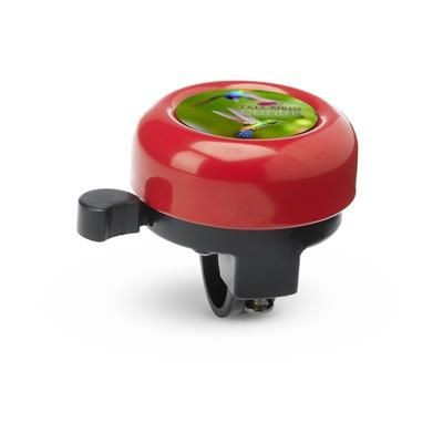 Picture of METAL BICYCLE BELL with Plastic Holder in Red