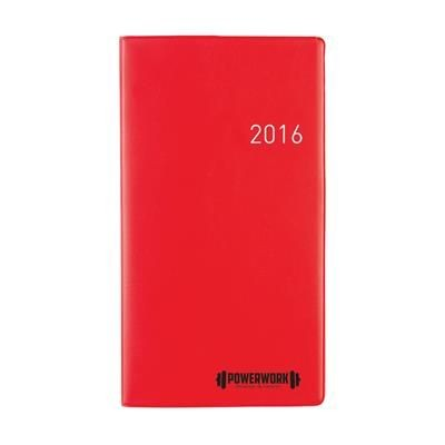 Picture of EURO SELECT DIARY in Red