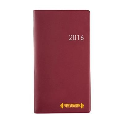 Picture of EURO SELECT DIARY in Burgundy