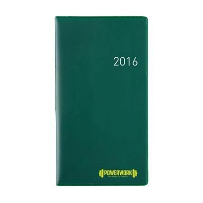 Picture of EURO SELECT DIARY in Green