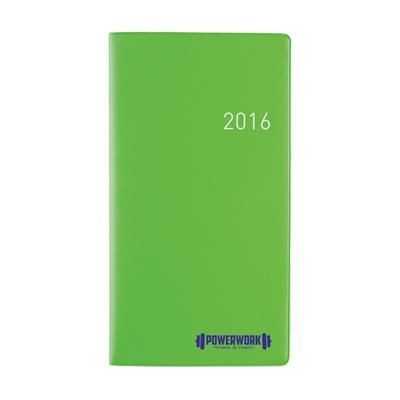 Picture of EURO SELECT DIARY in Bright Green