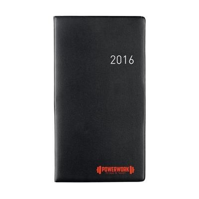 Picture of EURO SELECT DIARY in Black