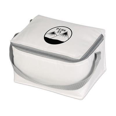 Picture of ICEBOX 600D POLYESTER COOL BAG in White