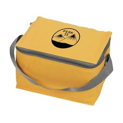 Picture of ICEBOX 600D POLYESTER COOL BAG in Yellow