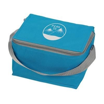 Picture of ICEBOX 600D POLYESTER COOL BAG in Blue