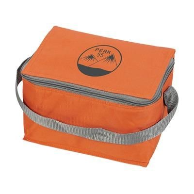 Picture of ICEBOX 600D POLYESTER COOL BAG in Orange