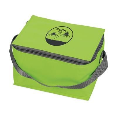 Picture of ICEBOX 600D POLYESTER COOL BAG in Lime