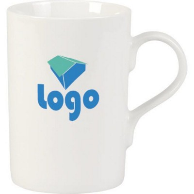 Picture of PLAZA PORCELAIN MUG in White