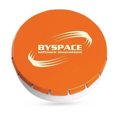 Picture of PROMO MINTS PEPPERMINT BOX in Orange