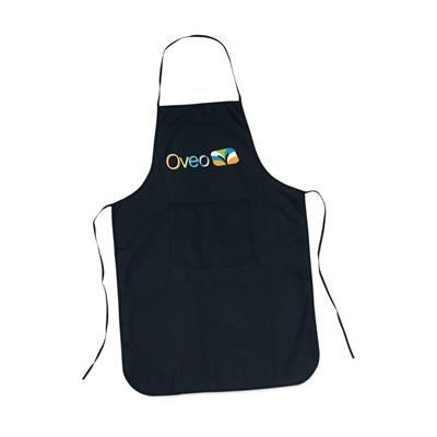 Picture of COTTON APRON with Pocket in Black