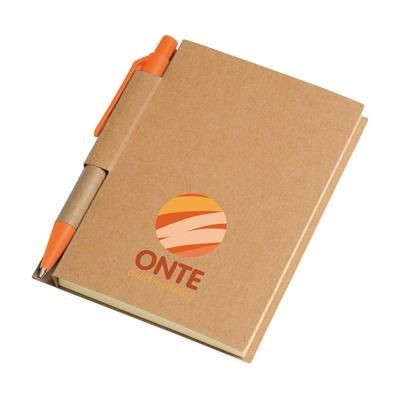 Picture of RECYCLE NOTE-S NOTE BOOK in Orange