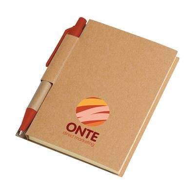 Picture of RECYCLE NOTE-S NOTE BOOK in Red