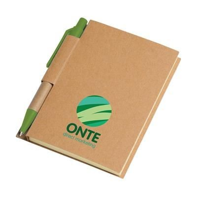 Picture of RECYCLE NOTE-S NOTE BOOK in Green