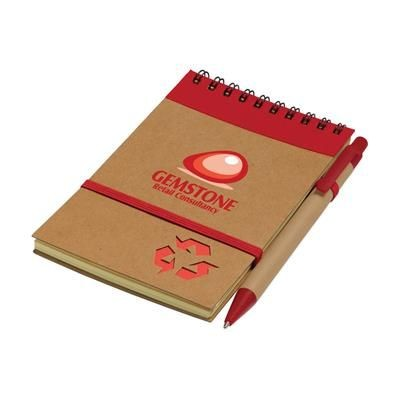 Picture of RECYCLE NOTE-M NOTE BOOK in Red