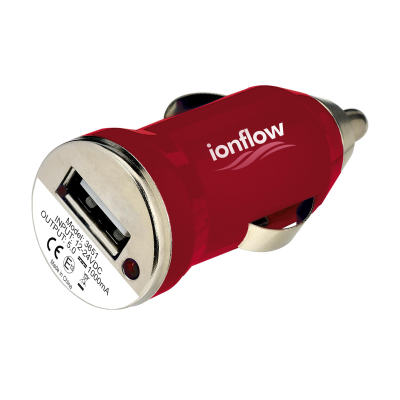 Picture of USB CARCHARGER PLUG in Red