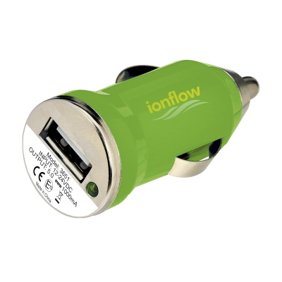Picture of USB CARCHARGER PLUG in Green