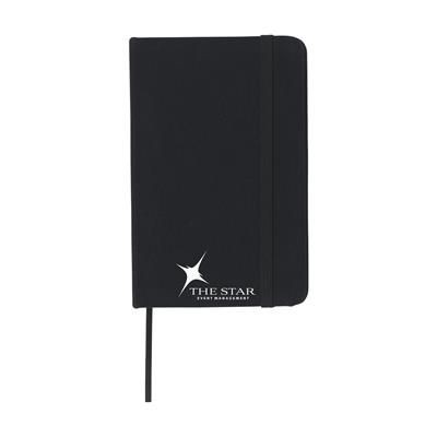 Picture of COTTON NOTE BOOK A6 in Black