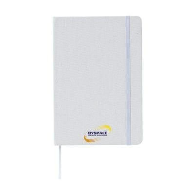 Picture of COTTON NOTE BOOK A5 in White