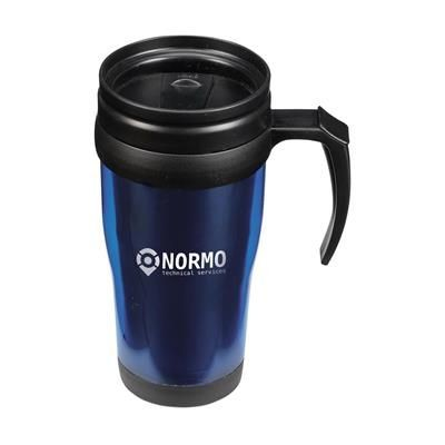 Picture of THERMO PLASTIC THERMO MUG in Blue