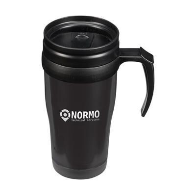 Picture of THERMO PLASTIC THERMO MUG in Black