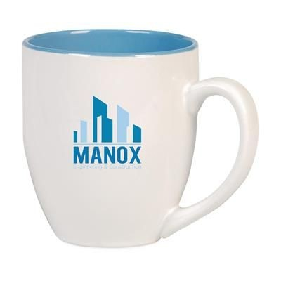 Picture of BIG DRINK CERAMIC POTTERY MUG in Blue