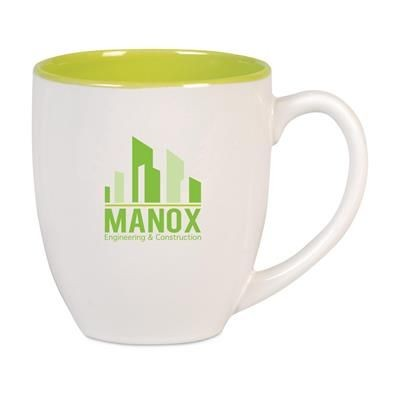 Picture of BIG DRINK CERAMIC POTTERY MUG in Green