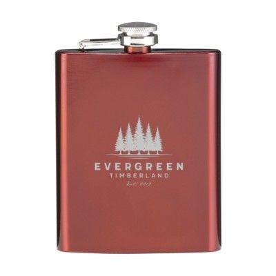 Picture of HIP FLASK DRINK BOTTLE in Red