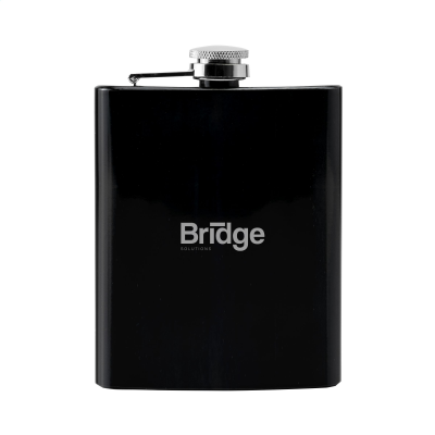 Picture of HIP FLASK DRINK BOTTLE in Black