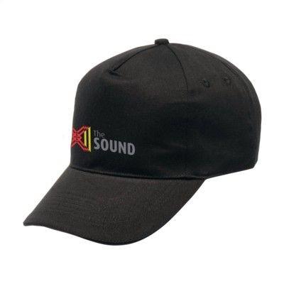 Picture of REGATTA STANDOUT AMSTON 5 PANEL CAP in Black