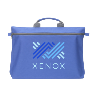 Picture of DOCUTRAVEL DOCUMENT BAG in Cobalt Blue