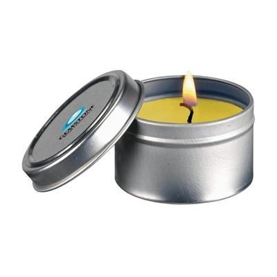 Picture of FRAGRANCE CANDLE TIN in Yellow