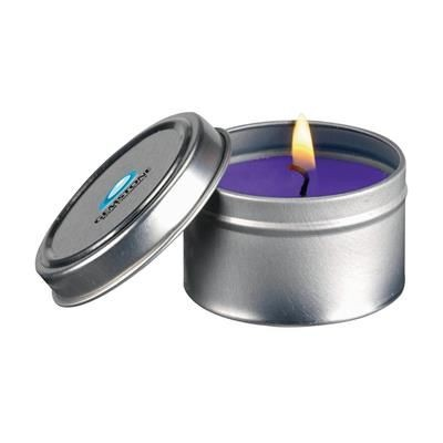 Picture of FRAGRANCE CANDLE TIN in Purple