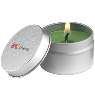 Picture of CANDLETIN FRAGRANCE CANDLE in Green & Eucalyptus & Mint