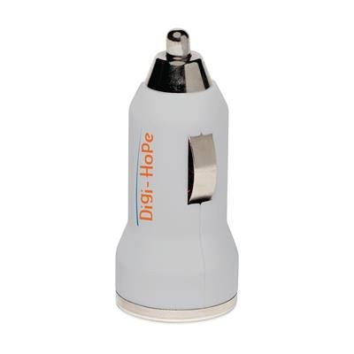 Picture of DUAL USB CAR CHARGER in White