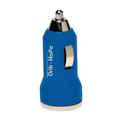 Picture of DUAL USB CAR CHARGER in Blue