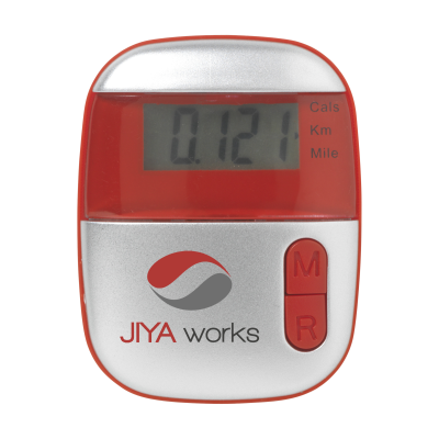 Picture of STEPS PEDOMETER in Red