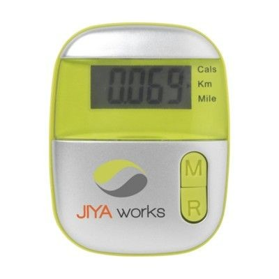 Picture of STEPS PEDOMETER in Lime