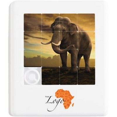Picture of SHUFFLE SLIDE PUZZLE in White