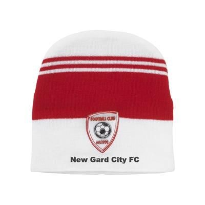 Picture of SUPPORTER BEANIE INCLUDING EMBROIDERY in Your PMS Number